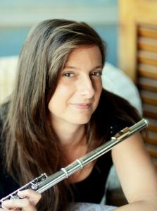 Amb flauta al balcó