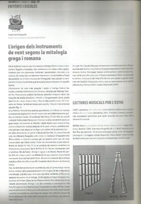 L'origen dels instruments