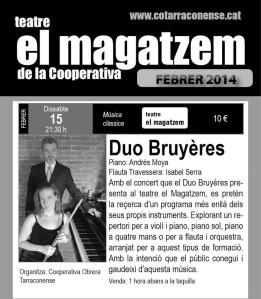 Flyer El Magatzem