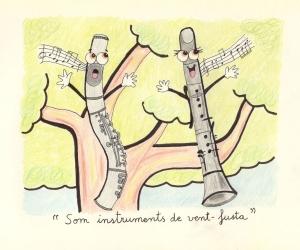 5) Flauta i clarinet