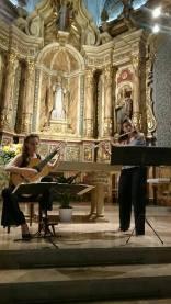 Duo Becerra-Serra, Jornades Musicals, La Riba