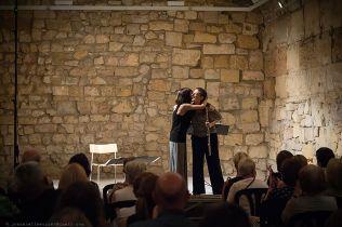 Amb la compositora Marian Marquez. Foto: Joan Abella Escuer