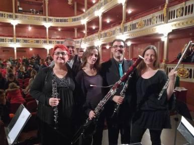 """Concerts educatius """"Bufa la Fusta"""" amb el quartet de fustes de Camerata XXI al Teatre Bartrina de Reus"""