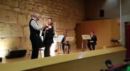 """Concerts educatius """"Bufa la Fusta"""" amb el quartet de fustes de Camerata XXI a l'Antiga Audiència de Tarragona"""