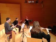 """Concerts educatius """"Bufa la Fusta"""" amb el quartet de fustes de Camerata XXI a l'Auditori Josep Carreras de Vila-seca"""
