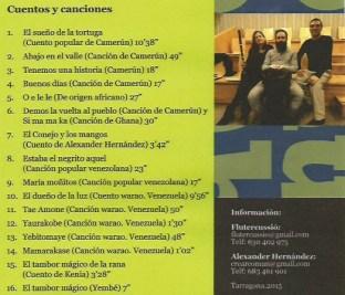 Omumbo repertorio castellano