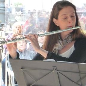 Quartet de flautes de l'Estudi de flauta Isabel Serra Bargalló a Paraules per la Pau