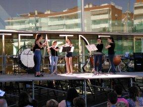 Grup de flautes de l'EMMS Salou
