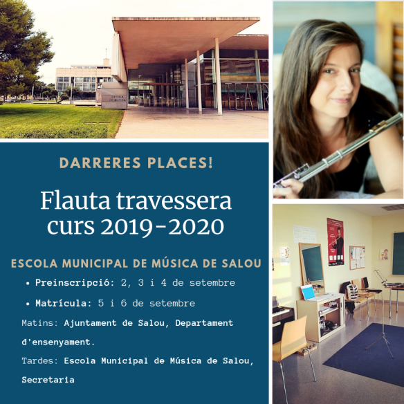 Flauta travessera curs 2019-2020